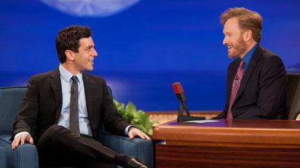 Conan O'Brien and B.J. Novak in Conan (2010)
