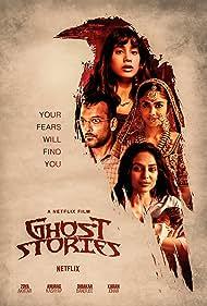 Sukant Goel, Mrunal Thakur, Sobhita Dhulipala, and Janhvi Kapoor in Ghost Stories (2020)