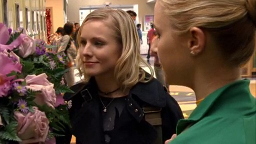 Kristen Bell and Alona Tal in Veronica Mars (2004)