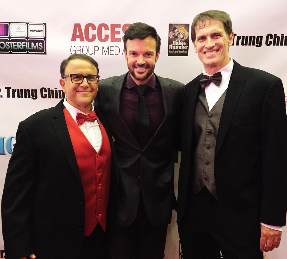 """""""Ride The Thunder"""" Red Carpet with Executive Producer Richard Botkin, Eric St. John and Director Fred Koster"""
