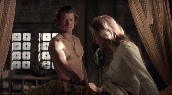 Philip Winchester and Tamsin Egerton in Camelot (2011)