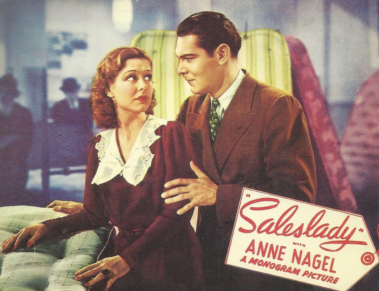 Weldon Heyburn and Anne Nagel in Saleslady (1938)