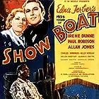 Irene Dunne, Allan Jones, Hattie McDaniel, Helen Morgan, Paul Robeson, Helen Westley, and Charles Winninger in Show Boat (1936)