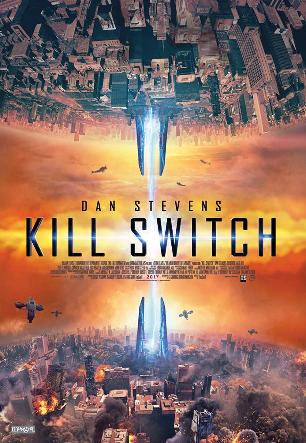 Kill Switch 2017 Hindi Dual Audio 720p BluRay 840MB ESub Download