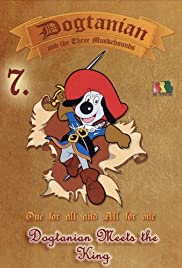 Dogtanian Meets the King Poster