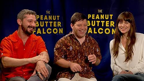 Shia LaBeouf & Dakota Johnson Learn Life Lessons on 'The Peanut Butter Falcon'