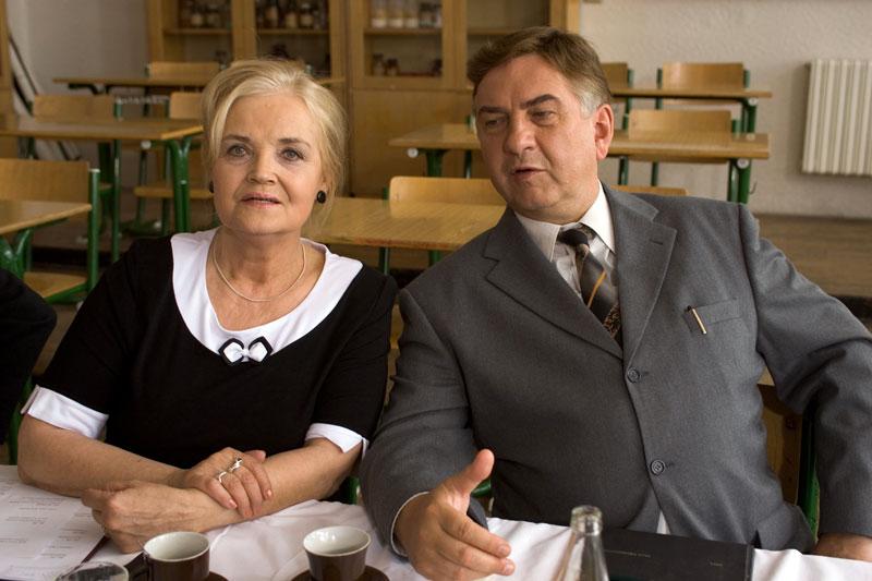 Miroslav Donutil and Gabriela Vránová in 3+1 s Miroslavem Donutilem (2004)