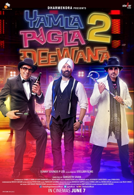 Yamla Pagla Deewana 2 film video free