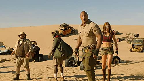 A team of friends return to Jumanji to rescue one of their own but discover that nothing is as they expect. The players need to brave parts unknown, from arid deserts to snowy mountains, in order to escape the world's most dangerous game.