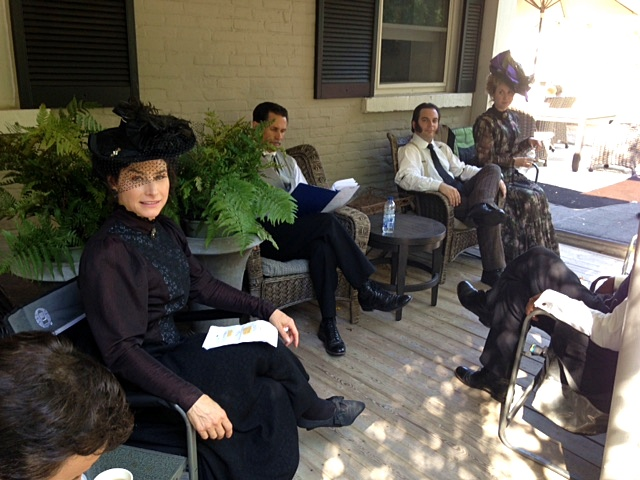 Joy Tanner, Rick Miller, Siobhan Murphy, and Justin Collette in Murdoch Mysteries (2008)