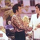 Amitabh Bachchan, Shashi Kapoor, and Manoj Kumar in Roti Kapada Aur Makaan (1974)