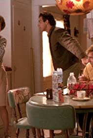 Scott Bakula, John D'Aquino, and Laura Harrington in Quantum Leap (1989)