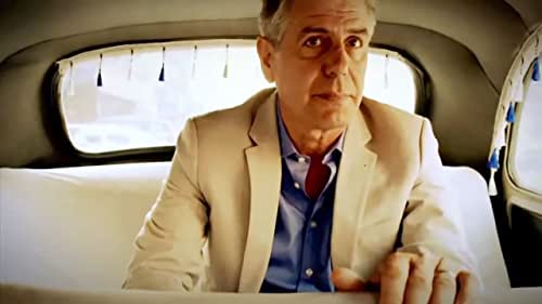 Anthony Bourdain visits countries, delving into their political issues as well as indigenous food and culture.