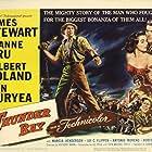 James Stewart, Dan Duryea, Joanne Dru, and Gilbert Roland in Thunder Bay (1953)