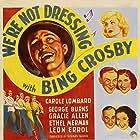 Bing Crosby, Carole Lombard, Gracie Allen, George Burns, Leon Errol, and Ethel Merman in We're Not Dressing (1934)