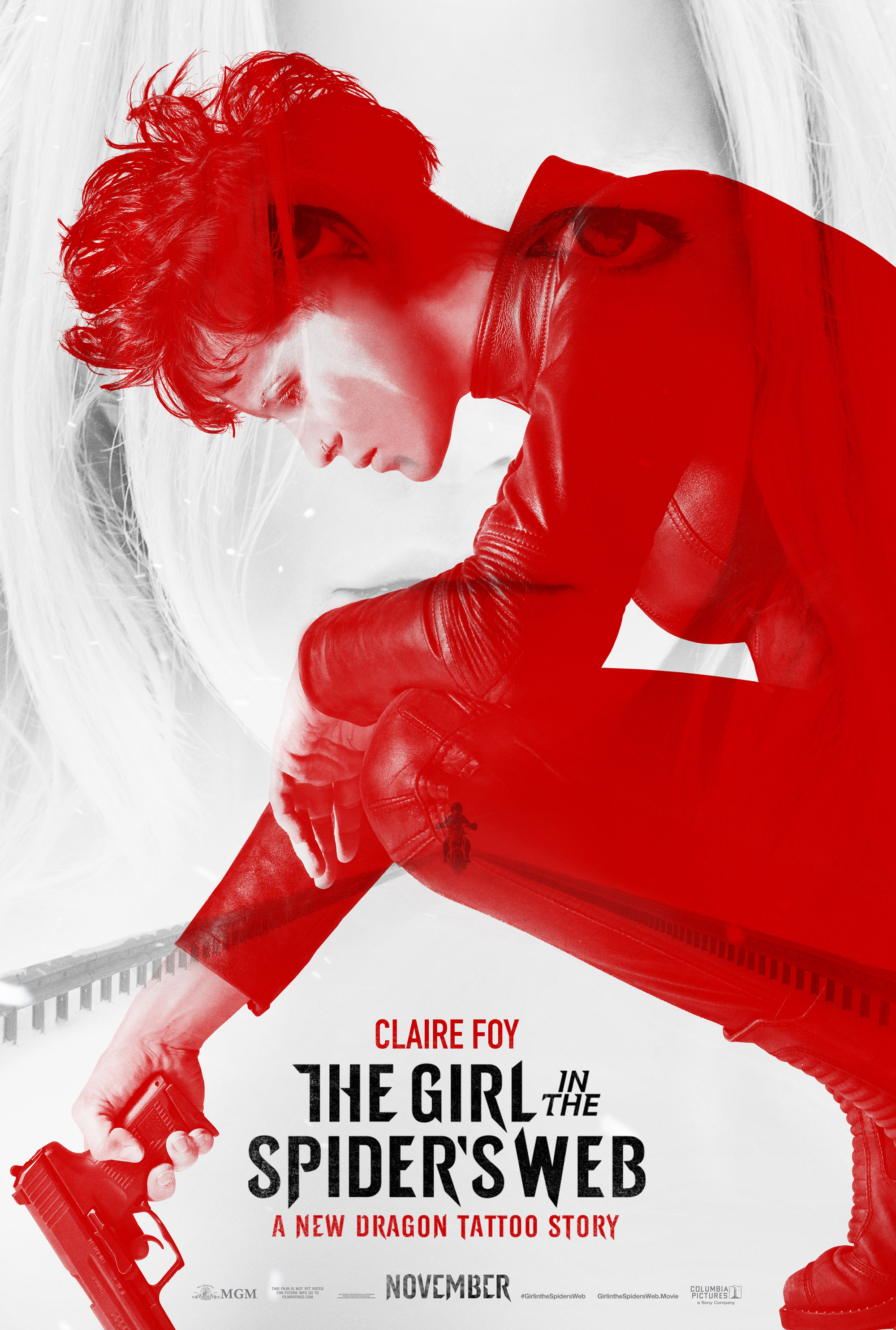 Image result for the girl in the spider's web movie poster