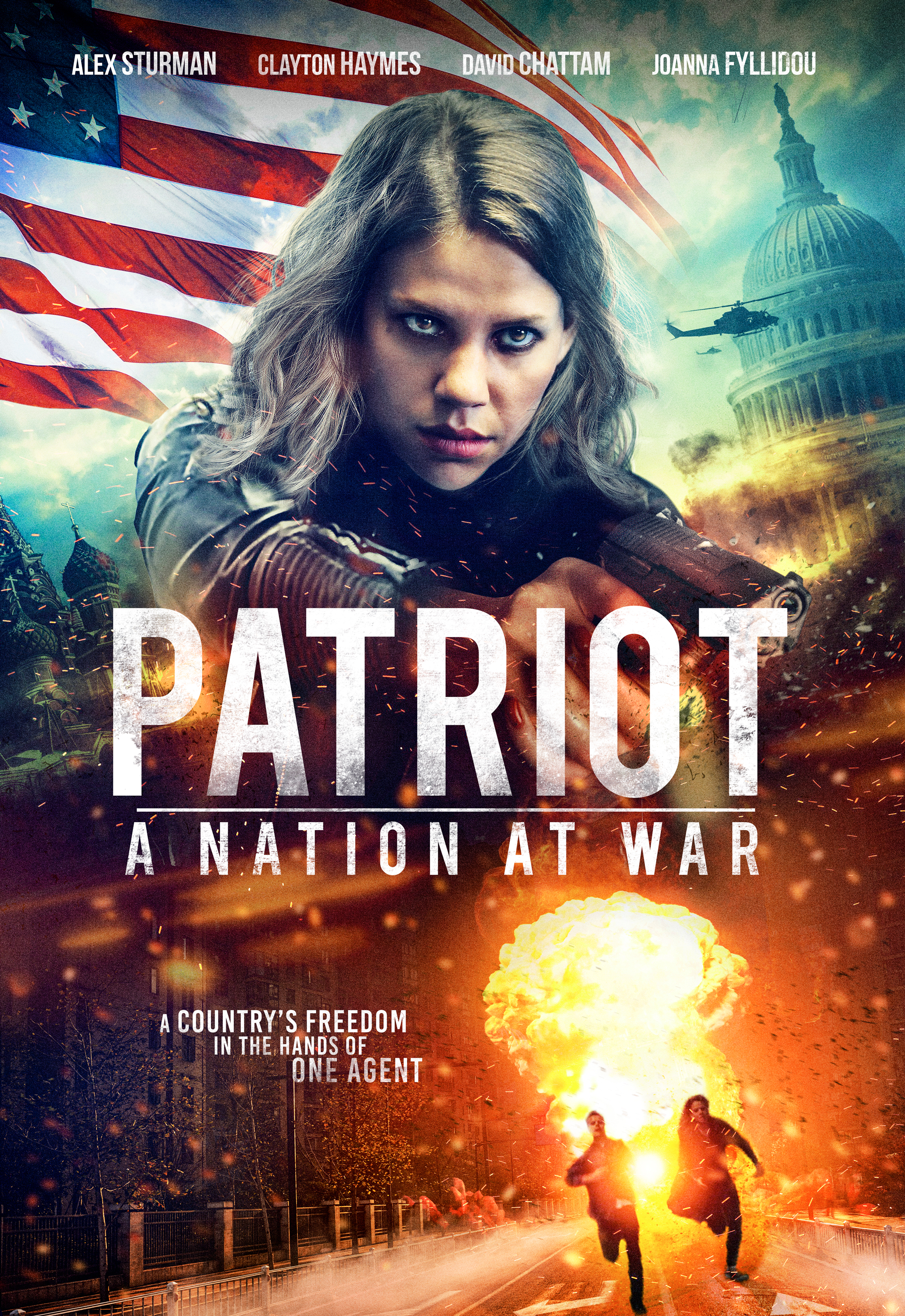 Patriot: A Nation at War 2020 Hindi ORG Dual Audio 480p HDRip 350MB x264 AAC