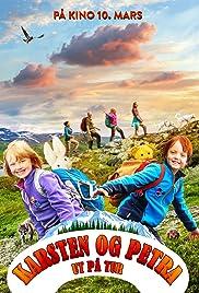 Casper and Emma Go Hiking Poster