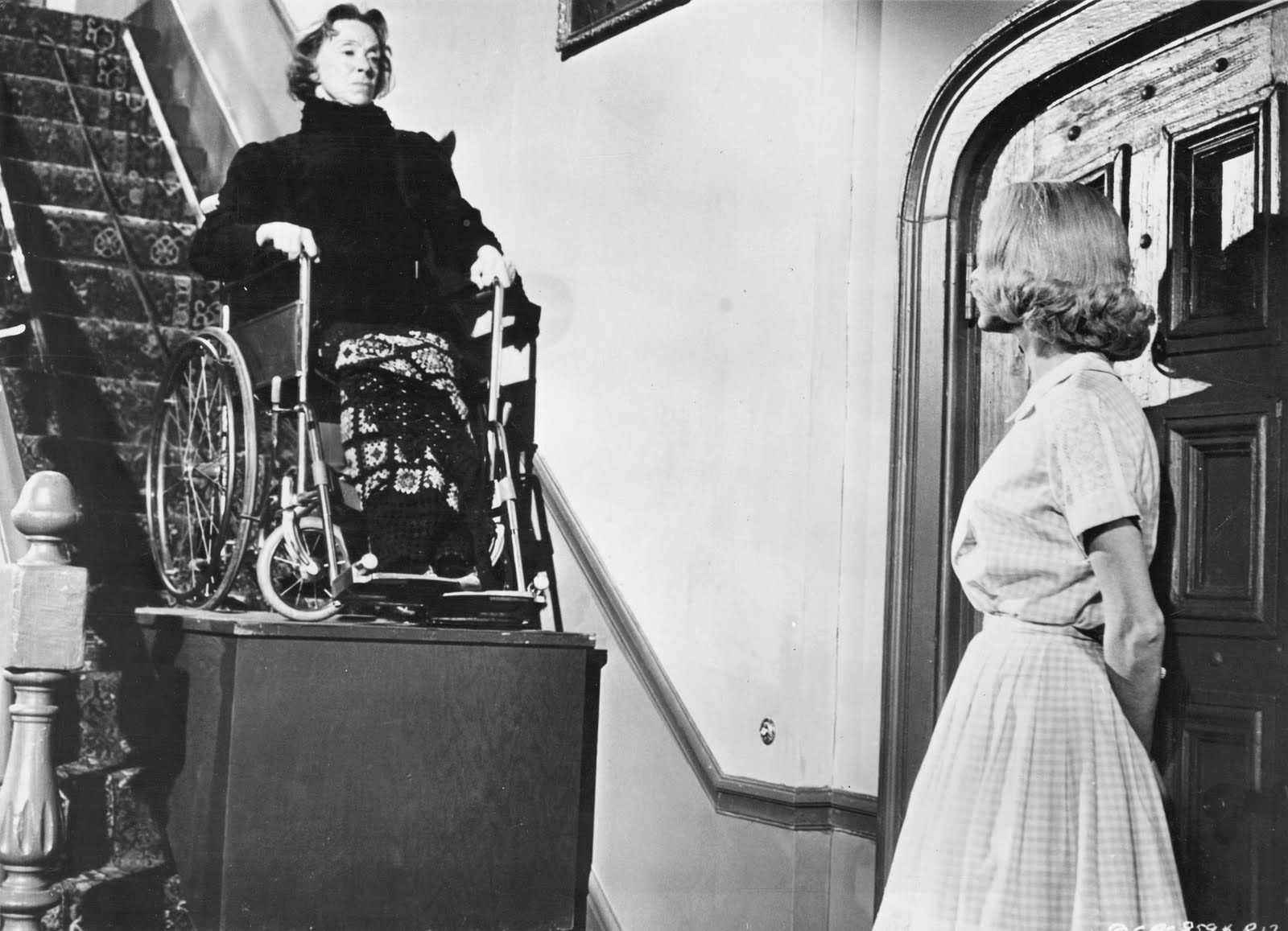 Joan Marshall and Eugenie Leontovich in Homicidal (1961)