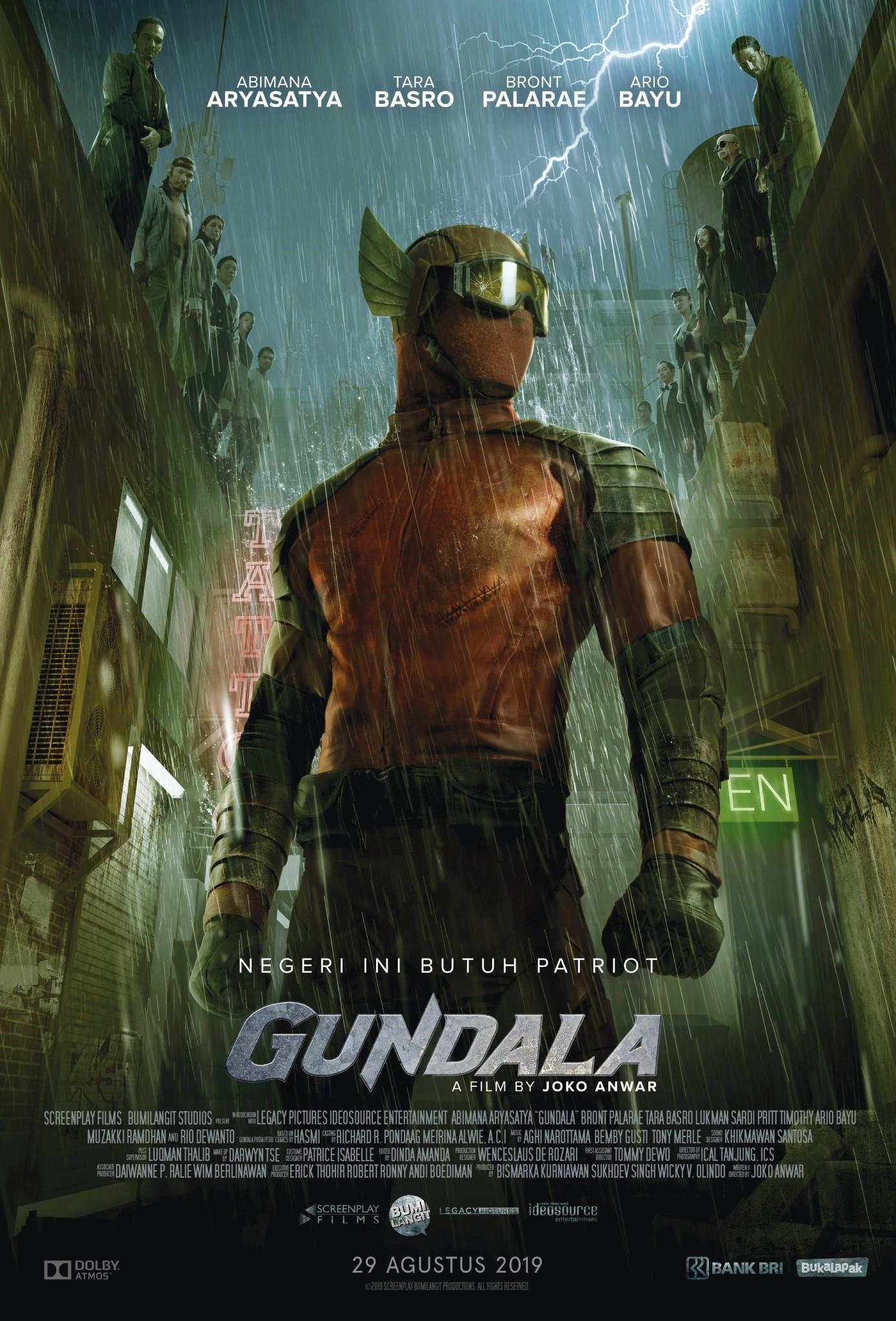 Gundala Movie Poster