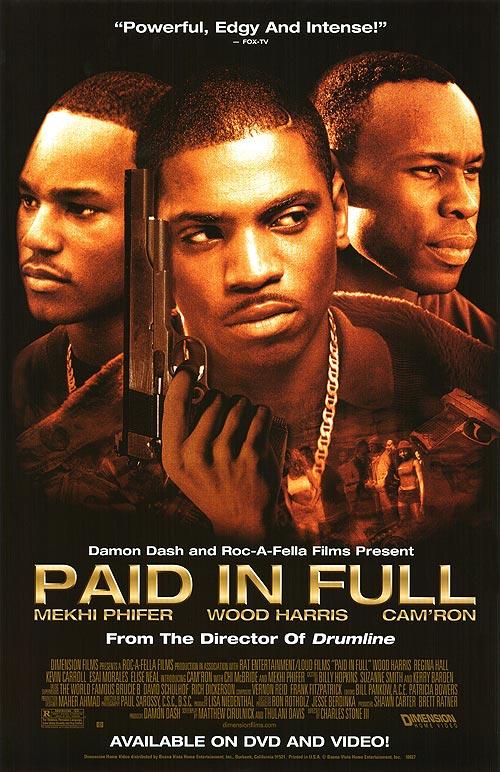 Mekhi Phifer, Wood Harris, and Cam'ron in Paid in Full (2002)