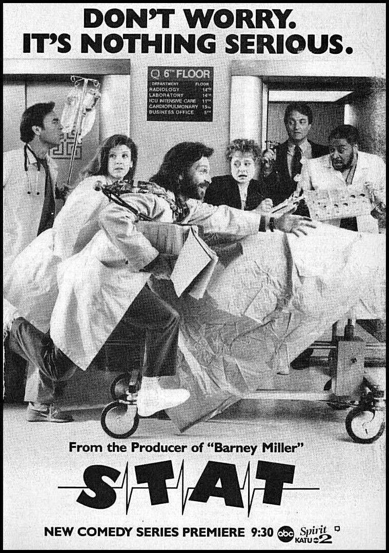 Casey Biggs, Dennis Boutsikaris, Ron Canada, Alix Elias, Gerrit Graham, and Alison La Placa in Stat (1991)