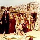 Kostas Kazakos, Tatiana Papamoschou, and Irene Papas in Ifigeneia (1977)