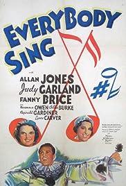 Everybody Sing Poster