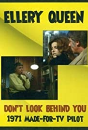 Ellery Queen: Don't Look Behind You Poster