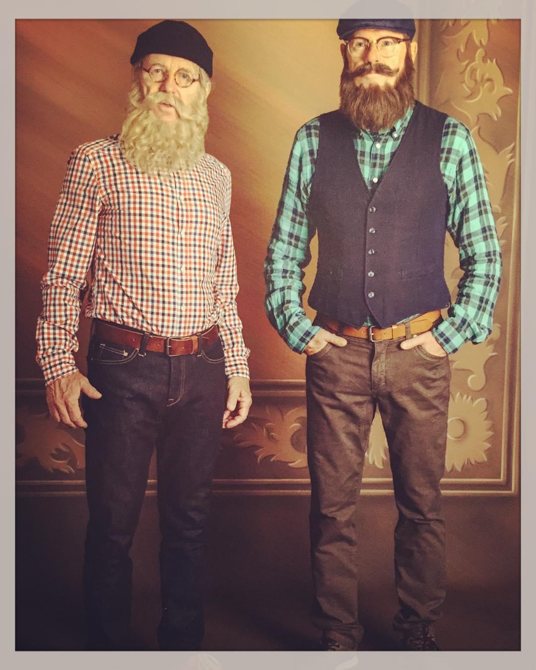 Claes Eriksson and Jan Rippe in Spargrisarna kan rädda världen (2016)