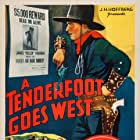 Russell Gleason and Jack La Rue in A Tenderfoot Goes West (1936)