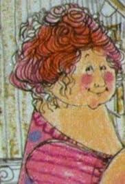 Fru Pigalopp og Juleposten Poster