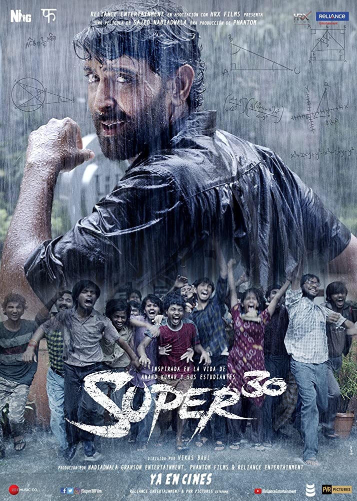 SUPER 30 (2019) Hindi HS WEB-DL – 1080p – 720p – Esub