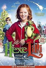 Hexe Lillis eingesacktes Weihnachtsfest Poster
