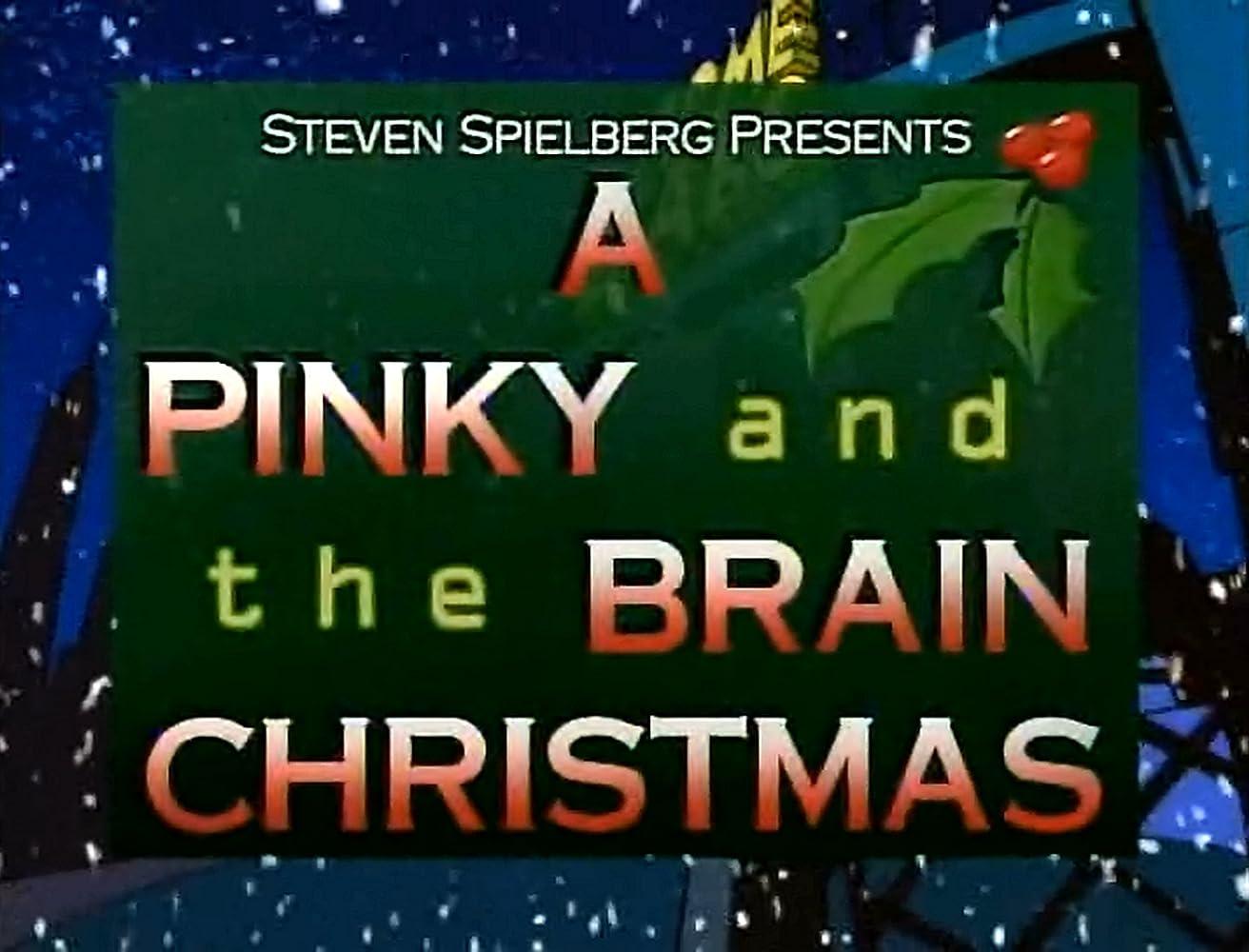 Pinky And The Brain Christmas.A Pinky The Brain Christmas 1995