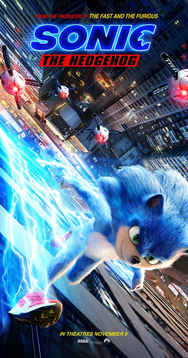 Free Watch Movie Sonic the Hedgehog (2019)