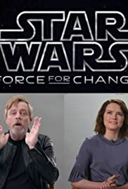 Mark Hamill and Daisy Ridley's Epic Star Wars: Force for Change Announcement Poster