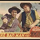 Wallace Beery and Joseph Calleia in The Bad Man of Brimstone (1937)