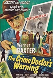 The Crime Doctor's Warning Poster