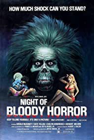 Night of Bloody Horror (1971) Poster - Movie Forum, Cast, Reviews