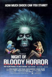 Night of Bloody Horror (1969) Poster - Movie Forum, Cast, Reviews