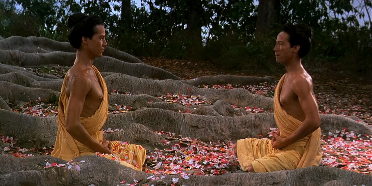 Keanu Reeves in Little Buddha (1993)