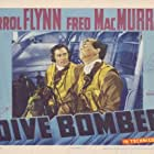 Errol Flynn and Fred MacMurray in Dive Bomber (1941)