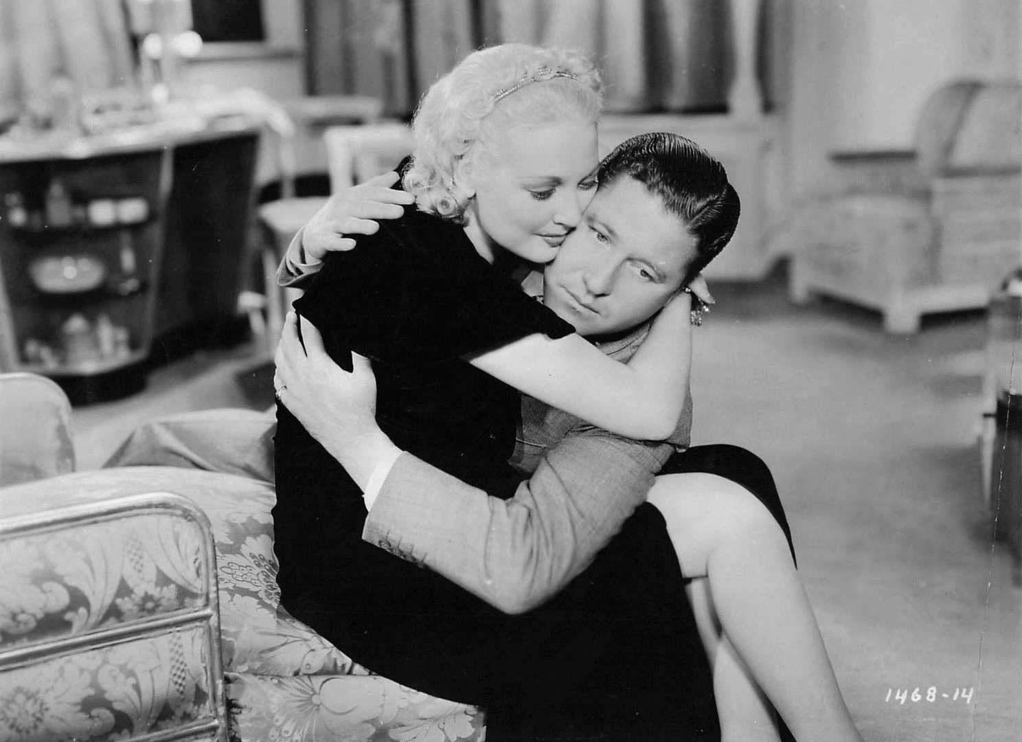Jack Oakie and Thelma Todd in Sitting Pretty (1933)