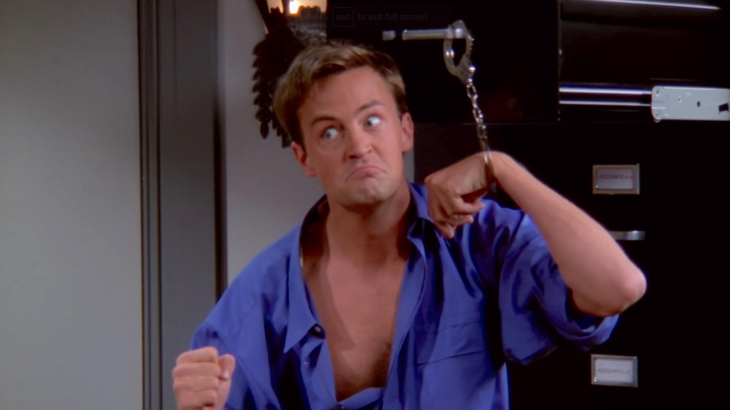 Matthew Perry in Friends (1994)