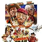 Robert De Niro, Morgan Freeman, Tommy Lee Jones, and Jermaine Washington in The Comeback Trail (2020)