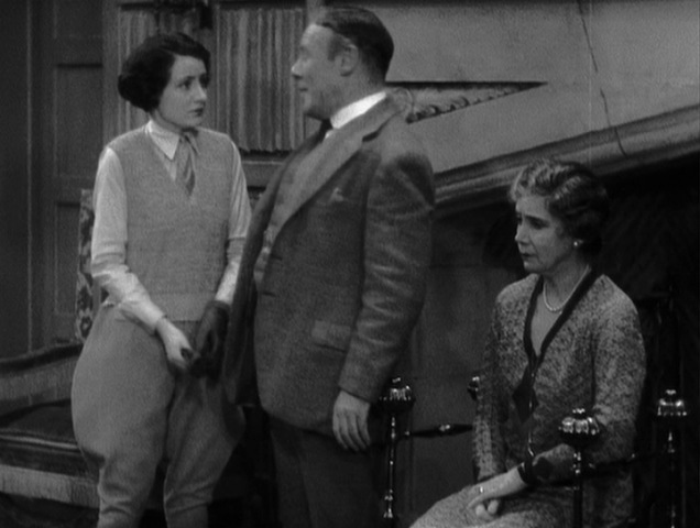 Jill Esmond, Edmund Gwenn, and Helen Haye in The Skin Game (1931)