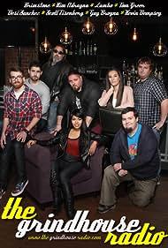 Desi Sanchez, William Kucmierowski, Stephen Zambito, Kimberly Adragna, Tom Greer, Scott Eisenberg, Guy Brogna, and Kevin Dempsey in The Grindhouse Radio (2015)