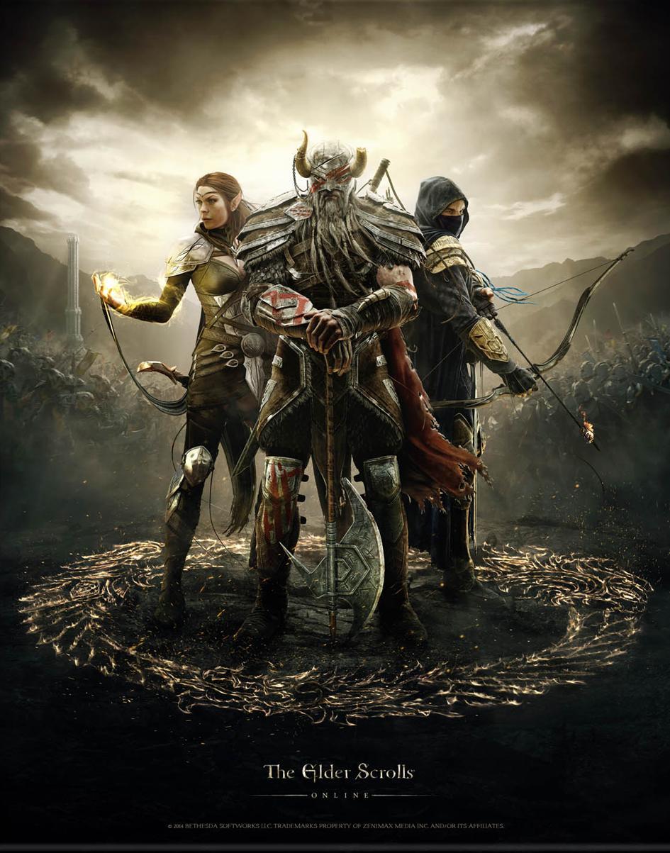 Elder Scrolls Online Video Game 2014 Imdb