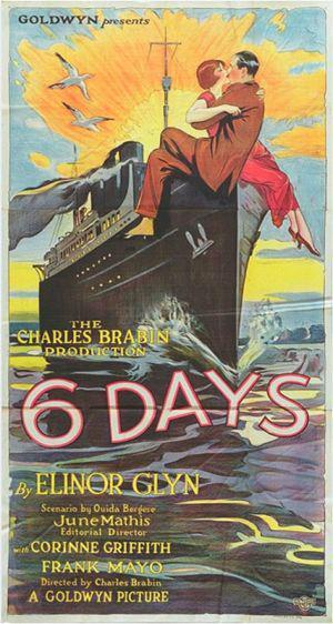 Corinne Griffith and Frank Mayo in Six Days (1923)